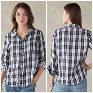 CP Shaded Romy Shirt in Plaid Flannel Size S
